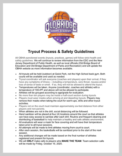 tryout_process_and_safety_guidelines
